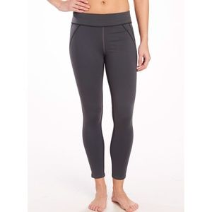Oiselle Lesley Tight in Charcola Grey
